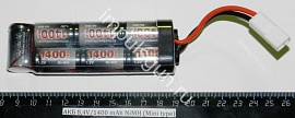 АКБ  8,4V/1400 mAh NiMH (Mini type)
